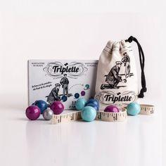 La petite Triplette jeu de pétanque par Les Jouets Libres - une idée cadeau dénichée par Georges sur AlloCadeau.com -