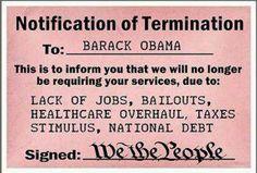 Notification of Termination