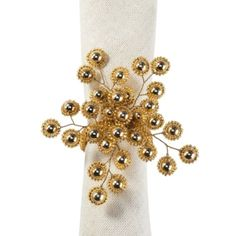 Firethorn Napkin Ring - Set of 4 from Z Gallerie
