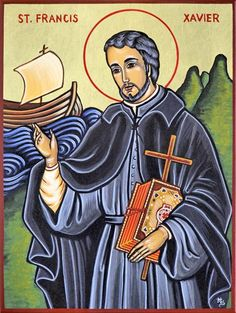 Feast of St. Francis Xavier; Roman Catholic Religious Celebration; December 3; Spanish Basque Jesuit; missionary to the Orient; considered the greatest missionary after St. Paul; known as the Apostle of the Indies and the Apostle of Japan. Patron saint of Borneo, Australia, and China.