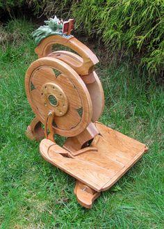 Single Treadle Works! | Olympic Spinning Wheels