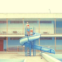 In this series by Slovakian photographer Mária Švarbová, the municipal swimming pool becomes a place of eerie, high-tensile beauty. All photographs: Mária Švarbová Vive Le Sport, Swimming Pool Images, Over The Rainbow, Aesthetic Photo, Oeuvre D'art, Diving, Instagram, Mario, Blog