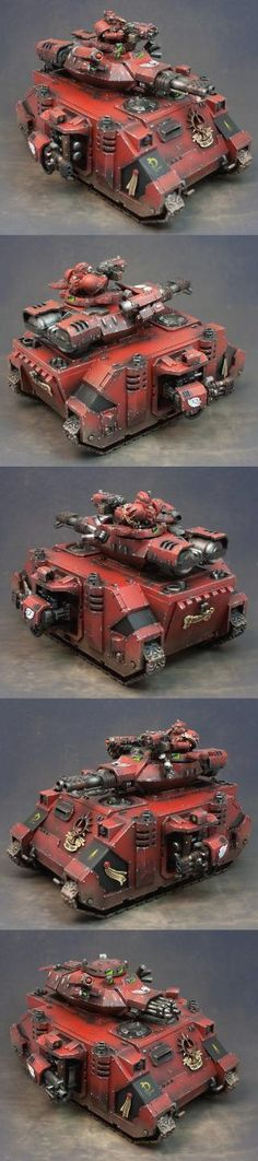 #Warhammer 40k Blood Angels Baal Predator