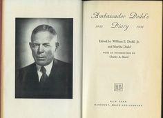 Martha William Dodd   Ma forse, soprattutto, questa pagina del diario di Dodd datata ...