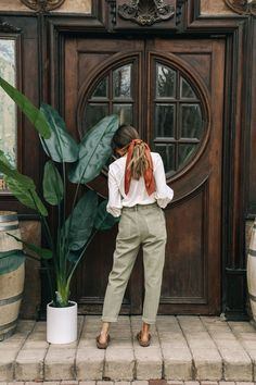 Spring Summer Fashion, Spring Outfits, Autumn Fashion, Hippie Style, Mode Outfits, Fashion Outfits, Look Boho, School Looks, Look Vintage