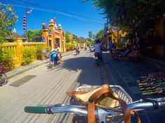 I miss Vietnam!. Eating Pho  drinking cheap but amazing coffee  and biking around the pretty town that is Hoi An .  There's a new post up on my blog 'Places not to miss in Vietnam' whether you're going for 2 weeks or 4 weeks it should be helpful! .  #vietnam #hoian #blogpost #newblogpost #bike #gopro #goprohero #travelblog #asia #traveltips #backpacker #budgettravel #tbt #tb by thewanderingquinn