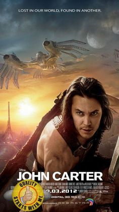 Posted by SF Series and Movies  #JohnCarter- Poster