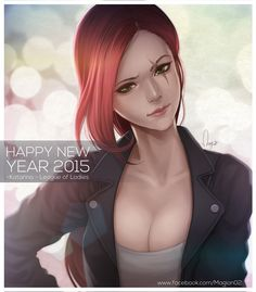League of Legends Katarina Casual by magion02.deviantart.com on @DeviantArt