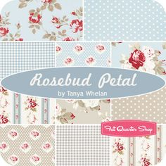 Petal by Tanya Whelan is here! Do you love blues? Then the Rosebud Petal bundle will have you charmed!