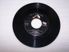 Elvis Presley 45 RPM Record RCA 47-7000 Loving You Teddy Bear with Silver Line #RocknRoll
