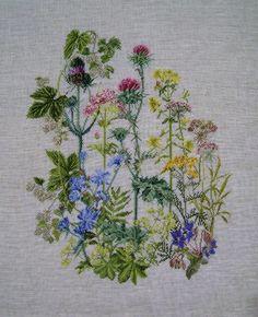 Thea Gouverneur Herb Panel