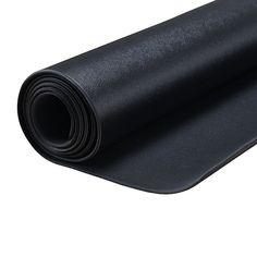 Sunny Health & Fitness Medium Treadmill Mat, Black