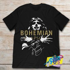 Gildan Brand Bohemian Rhapsody Freddie Mercury Queen Band T-Shirt Men/'s Short Sleeve T-Shirt Hip Hop Fashion, Retro Fashion, 90s Fashion, Cheap T Shirts, 90s Shirts, Queen Band, Freddie Mercury, Contemporary Fashion, Shirt Designs