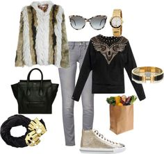 A fashion look from February 2013 featuring shirt jumper, slim skinny jeans and miu miu sneakers. Browse and shop related looks. Shoe Bag, Polyvore, Stuff To Buy, Shopping, Shoes, Collection, Design, Women, Fashion