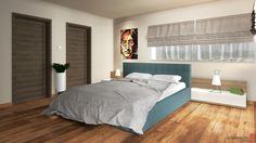 House Interior Design Master Bedroom- Oradea, Romania by Artprenta Studio www.artprenta.ro