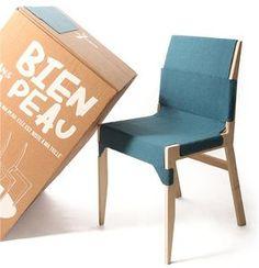 Projet étudiant : Skin Chair par Camille Durand - LISAA Rennes
