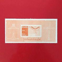 Brasília [1960]  Designer: Desconhecido  #stampcollector #sendmoremail #postage #stamp #stamps #vintagestamps #philately #philategram #philatelic #philatelist #brazilianstamps #filatelia #selos