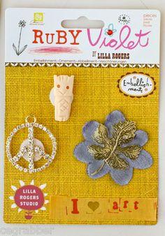 One of my wackier sku's for Ruby Violet eBay