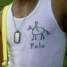 Polo? Seems legit...                                                                                                                                                     More