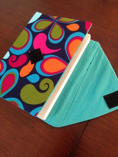 The finished techo cover, open with techo inside.