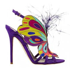 Brian Atwood Spring 2014 Butterfly Inspired Heels