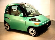 1993 FIAT DOWNTOWN EV CONCEPT - designed by Chris Bangle