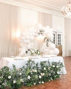 Wedding Balloons, Balloon Garland, Table Decorations, Furniture, Home Decor, Decoration Home, Room Decor, Home Furnishings, Home Interior Design