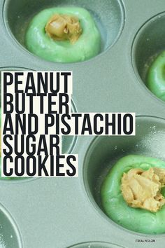 Peanut Butter and Pistachio Sugar Cookies - It's Really Kita