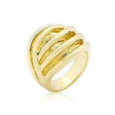Golden Illusion Fashion Ring