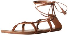 Billabong Women's AROUND THE SUN GLADIATOR Sandal * Wow! I love this. Check it out now! : Lace up sandals
