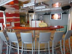 Cool Club O2 onboard provides a great place for teens ages 15-17 to hang out.