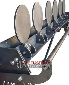 The Target Man DIY Plate Rack steel shooting targets. Save money by welding your own steel shooting targets. Steel targets for training and for fun capable of withstanding and rounds. Steel Targets, Steel Shooting Targets, Shooting Bench, Shooting Range, Shooting Stand, Shooting Rest, Metal Projects, Welding Projects, Woodworking Projects For Kids
