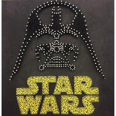 Star Wars Darth Vader String Art от JBstringart на Etsy