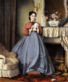 Французский художник Auguste Toulmouche