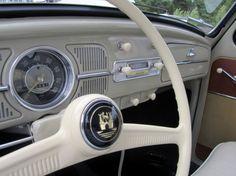 classic beetle interior