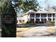 Oak View Manor is a fantastic plantation estate for sale in Greenwell Springs LA