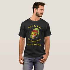 Biker Ride Retro Hardtail Jester Jake Edit Text T-Shirt   biker sayings, tattoo biker, vintage biker #bikers #bikerslife #bikerlove, 4th of july party T Shirt Noir, Tee Shirt Homme, Tips Fitness, Fitness Models, Harley Davidson, Tattoos Skull, Biker Tattoos, Patriarchy, Usa Flag