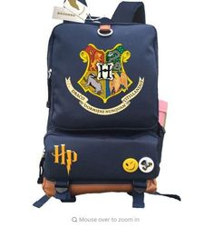 Anime Harry Potter Travel backpack Hogwarts school Bags Rucksacks Storagebag Unisex