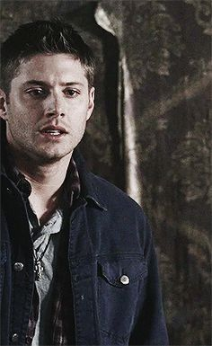 Dean and Sam hugging (gif) | Supernatural //This episode, this scene....is definitely one of my favorites. It was so sweet. Dean just runs up to Sam and  grabs him, pulling him into a big hug.