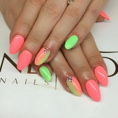 by Paulina Chlubicka, Find more Inspiration at www.indigo-nails.com #Nails #Polish #pastel #ombre