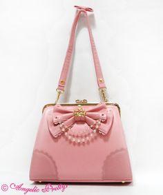 Crown Purse Shoulder Bag Pink