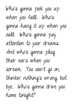 Drive - The Cars music, song lyrics, quotes