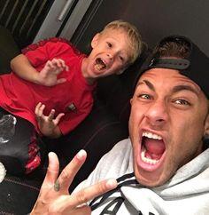 "neymarspassion: """"@neymarjr: My little boy ❤️ "" """