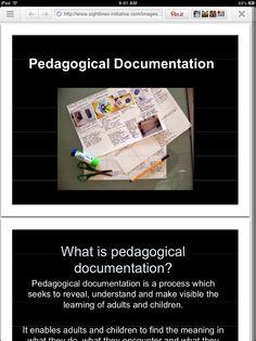 Presentación en PowerPoint sobre documentación pedagógica.