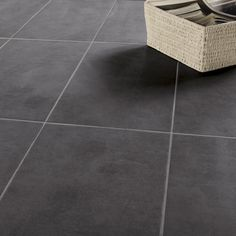 Carrelage sol jiraya gris 45 x 45 cm castorama for Double encollage carrelage sol