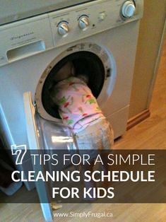 7 Tips For A Simple Cleaning Schedule For Kids http://www.lavahotdeals.com/ca/cheap/7-tips-simple-cleaning-schedule-kids/92265