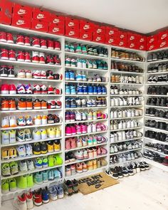 JD Sports is the leading trainer & sports fashion retailer in the UK. Shoe Wall, Shoe Room, Sneakers Fashion, Shoes Sneakers, Jordan Shoes Girls, Nike Shoes Air Force, Aesthetic Shoes, Hype Shoes, Fresh Shoes