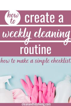 Looking for a simple weekly deep cleaning routine? This cleaning schedule is perfect for busy moms whether you are a working woman or a stay at home mom. How to create a deep cleaning checklist in no time, and stay on top of the mess. Deep Cleaning Checklist, Weekly Cleaning, Home Organisation Tips, Organization, Clean House Schedule, Working Woman, Organizing Your Home, Homemaking, Routine