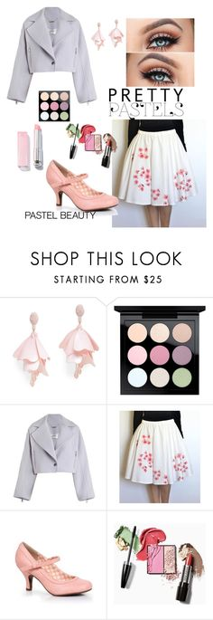 """Rockabilly outfit and pastel makeup"" by victorsboutique ❤ liked on Polyvore featuring beauty, Oscar de la Renta Pink Label, MAC Cosmetics, Zimmermann, Beauty and pastelmakeup"