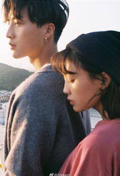 Korean Couple Photoshoot, Pre Wedding Photoshoot, Couple Shoot, Couple Photography Poses, Couple Portraits, Film Photography, Couple Aesthetic, Film Aesthetic, Romantic Couples